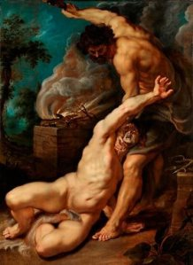 Cain Slaying Abel by Peter Paul Rubens, 1608-1609