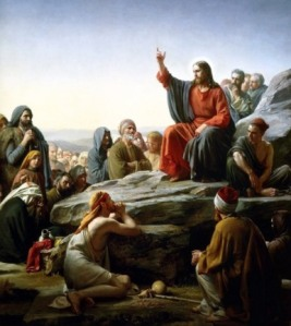 """""""The Sermon on the Mount"""" by Carl Bloch, 1890"""