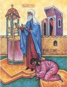 The Parable of the Pharisee and Tax Collector. From internetmonk.com