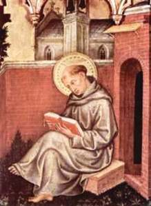 Detail from Valle Romita Polyptych by Gentile da Fabriano