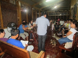 Bible Training 1b in Isabela