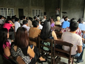 Sunday Worship Service in Pampanga