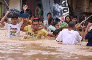 APTOPIX Philippines Floods