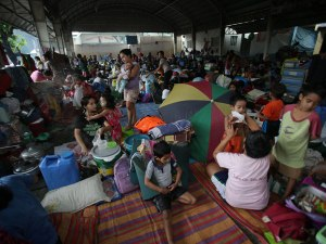 maring evacuees