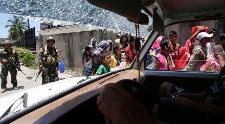 Zambonga-evacuation