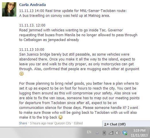 Tacloban 4 Travel Risks