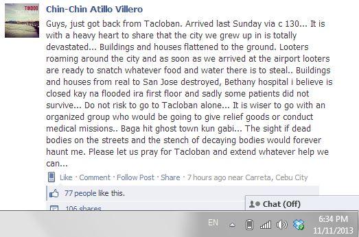 Tacloban 5 Travel Risks