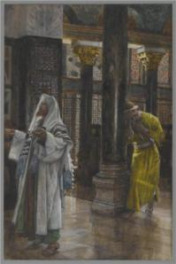 """The Pharisee and the Publican"" by James Tissot, 1894"
