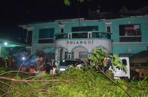 Typhoon aftermath in Polangui, Albay. Photo from www.facebook.com