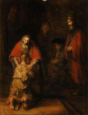 Prodigal Son, Return of the -- Rembrandt_Harmensz_van_Rijn - Copy